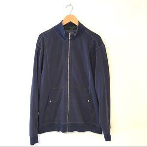 Tommy Bahama Men's Full Zip Blue Sweatshirt XL